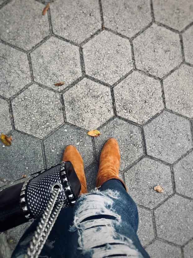 Street Style boots within the concrete jungle