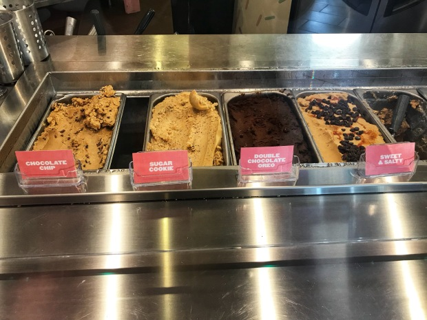 Dough Nation cookie dough flavors