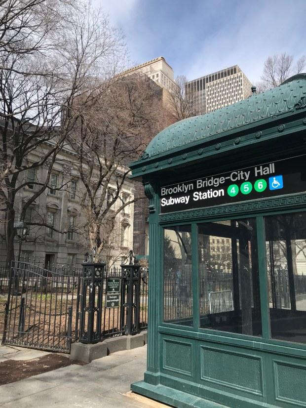 Brooklyn Bridge City Hall Subway Station