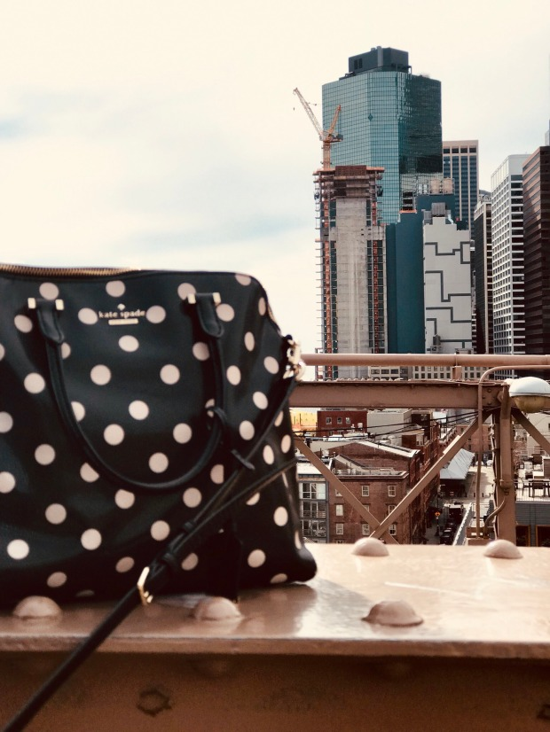 Kate Spade Handbag Traveling to NYC