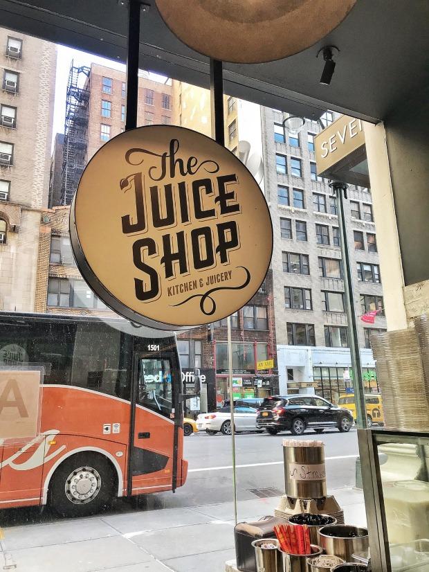 The Juice Shop in Midtown Manhattan