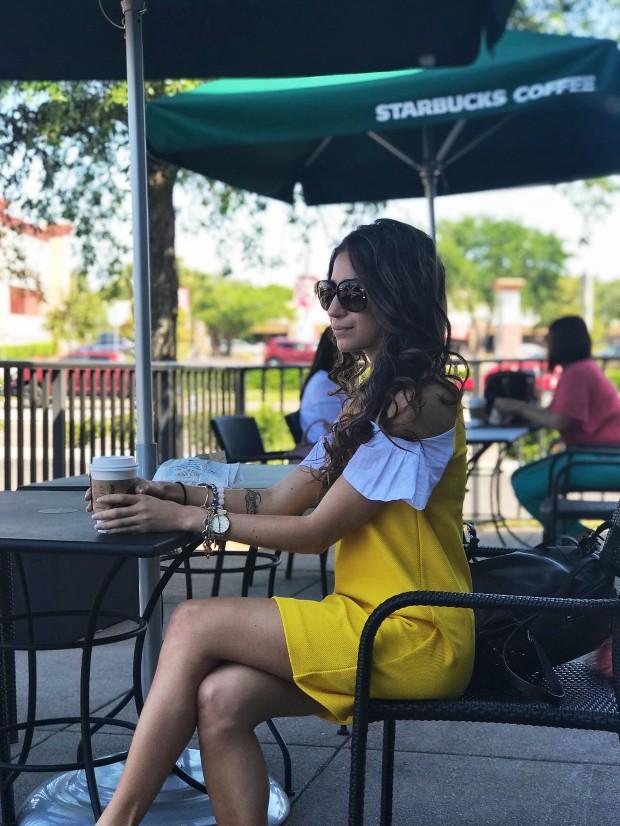 Women's Summer Yellow Dress