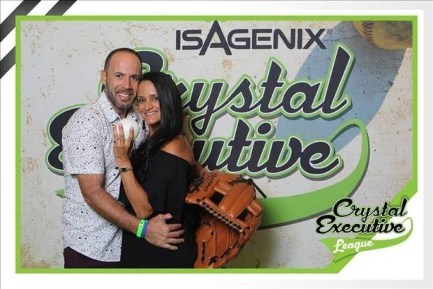 Isagenix crystal executive league