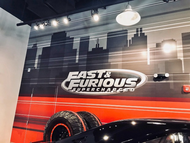 Fast & Furious Supercharged ride at Universal Studios