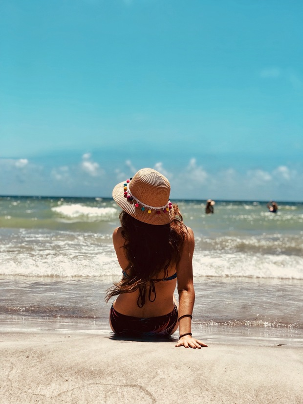 beach day at Treasure Island