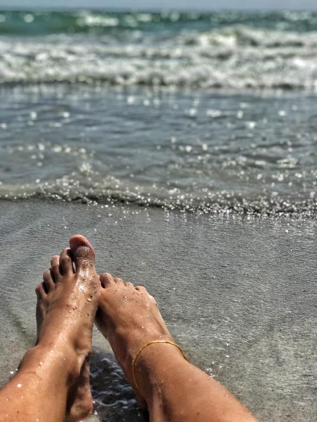 Summer beach day in Florida