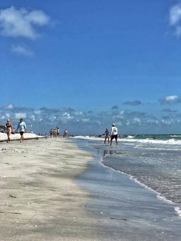 Treasure Island beach in Florida