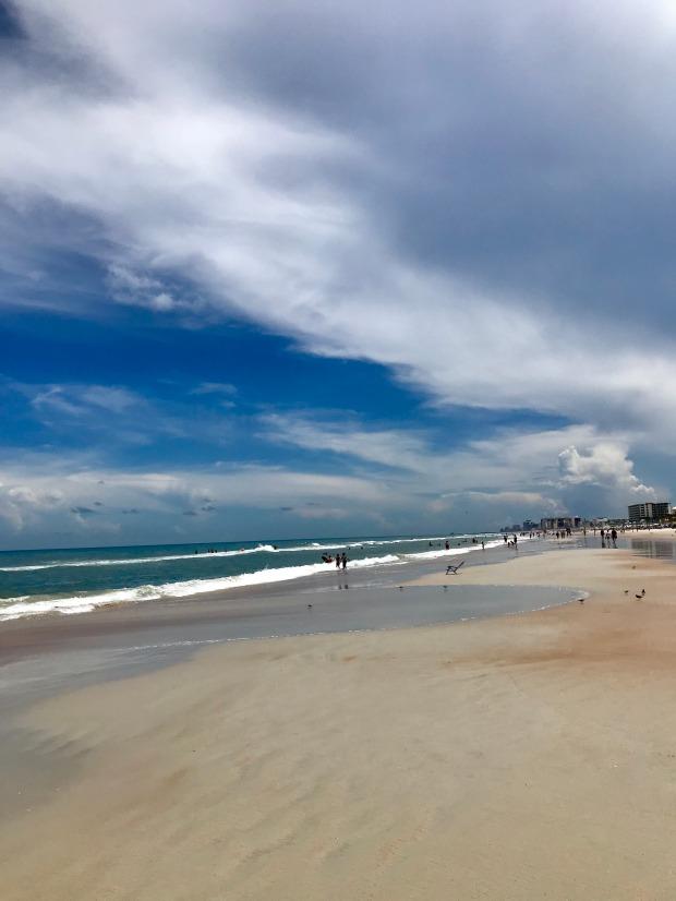 Daytona Beach in the summer